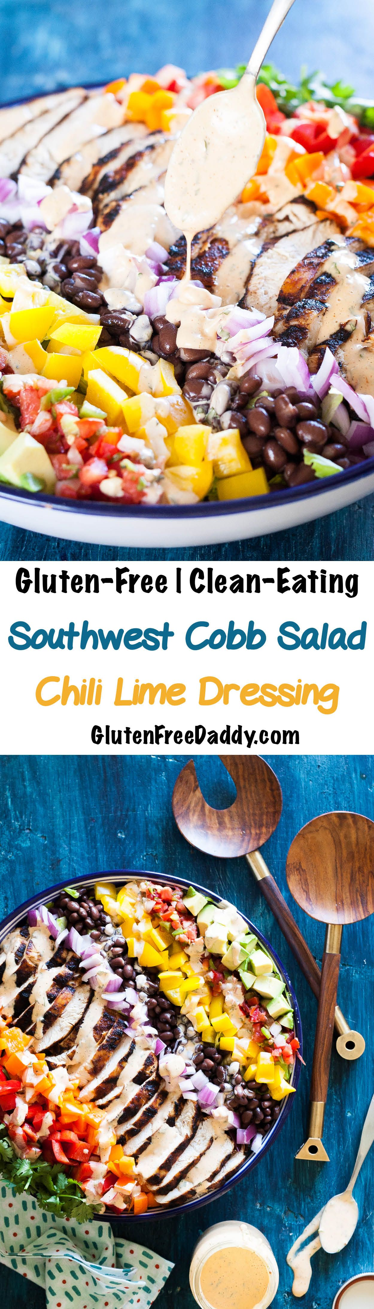 Grilled chicken southwest chili lime salad recipe my