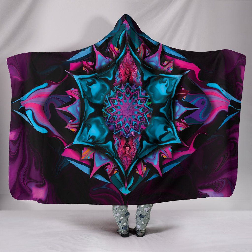 Photo of Inspired – Hooded Blanket – Inspired / Adult 80×60