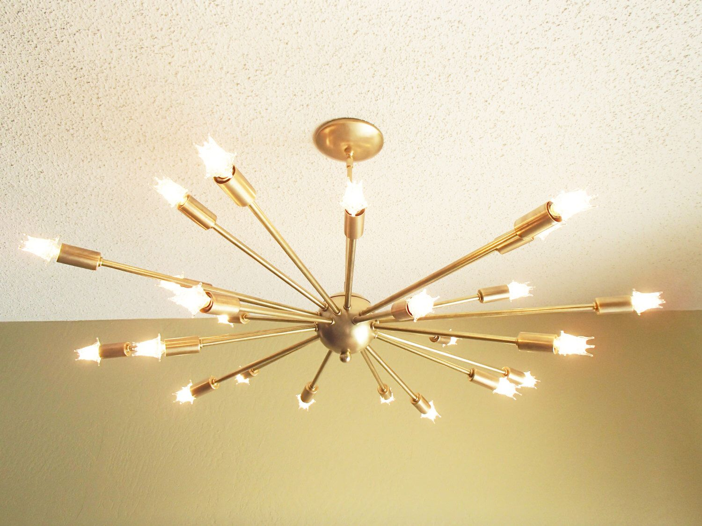 Large 24 arm sputnik light atomic mid century starburst chandelier large 24 arm sputnik light atomic mid century starburst chandelier by starlightlighting on etsy https arubaitofo Image collections