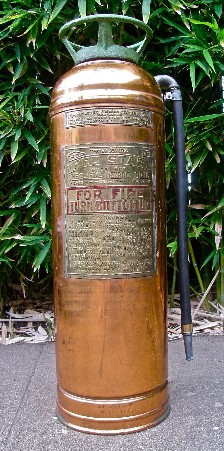 Br Red Star Fire Extinguisher