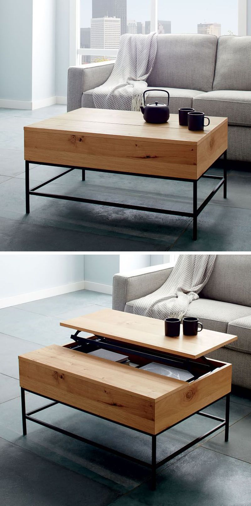 The Cristallo table from Resource Furniture transforms from a ...