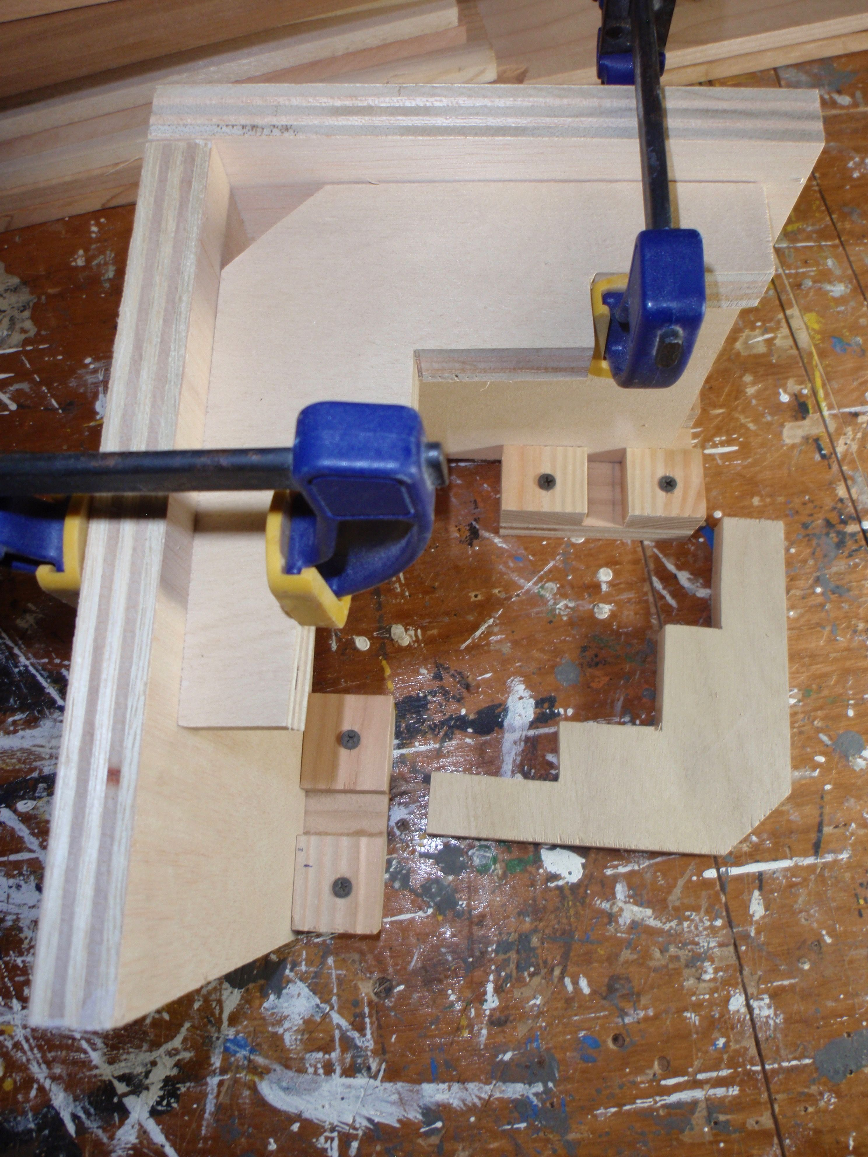 Right Angle Clamping Jig Made From 3 4 Plywood Workshop