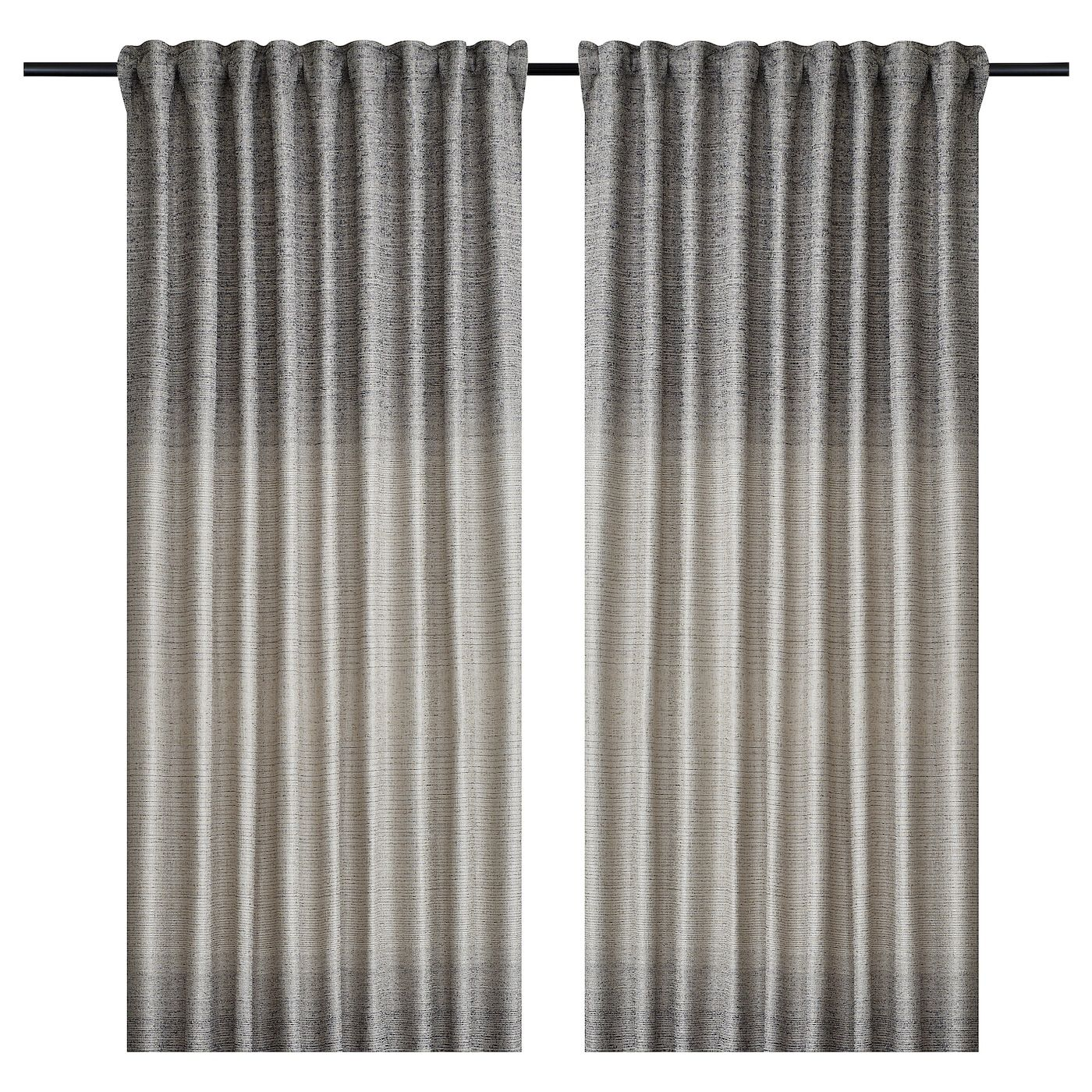 Ikea Bjarnhild Beige Curtains 1 Pair Curtains Cool Curtains Ikea