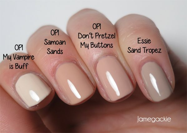 OPI My Vampire is Buff, Samoan Sands, Don\'t Pretzel my Buttons ...