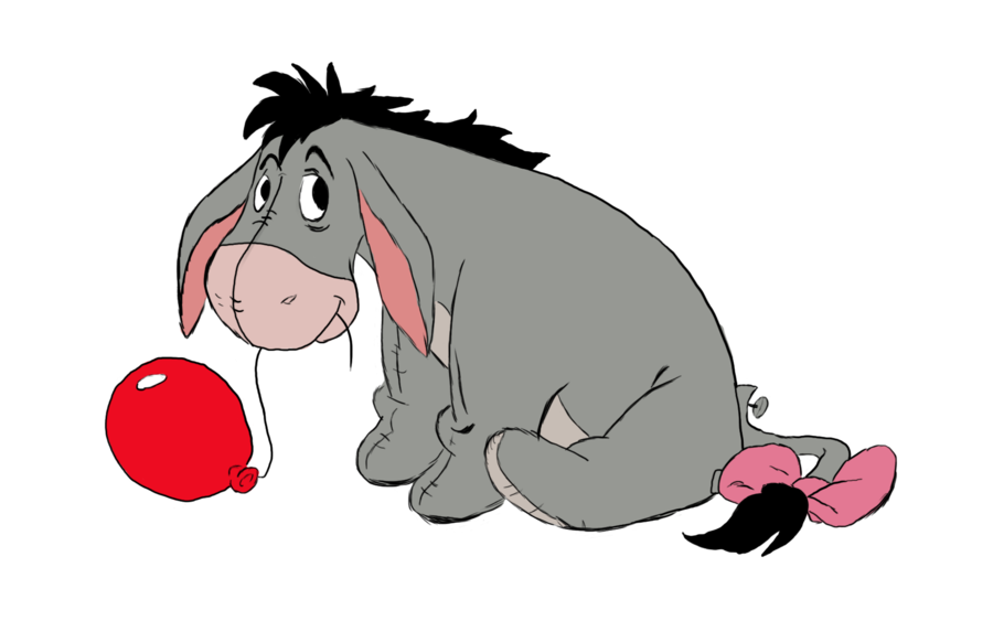 eeyore red balloon by phoenixa86 on deviantart i m inspired to