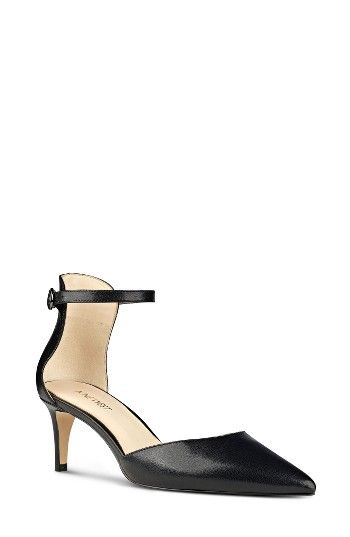 5c03b23f541 Free shipping and returns on Nine West Sharmila Ankle Strap d Orsay Pump  (Women) at Nordstrom.com. A pointy-toe pump with an elegant d Orsay profile  ...