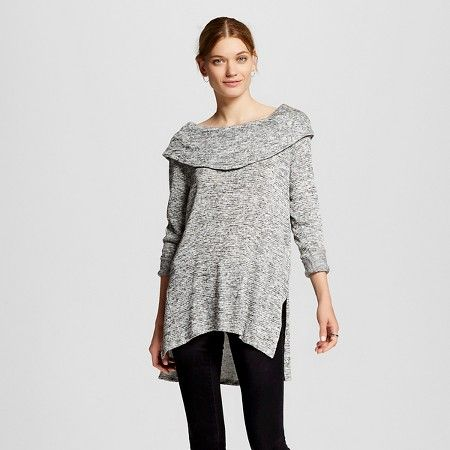 Women's Long Sleeve Cowl Neck Sweater - Mossimo™ : Target ...