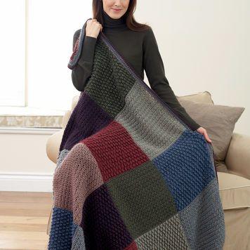 Bernat All Colors Afghan | Crochet | Pinterest