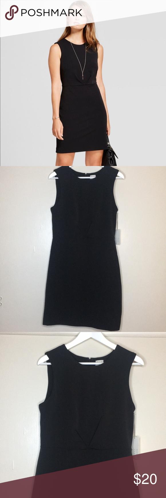Nwt Target A New Day Little Black Dress Little Black Dress Black Dress Clothes Design [ 1740 x 580 Pixel ]