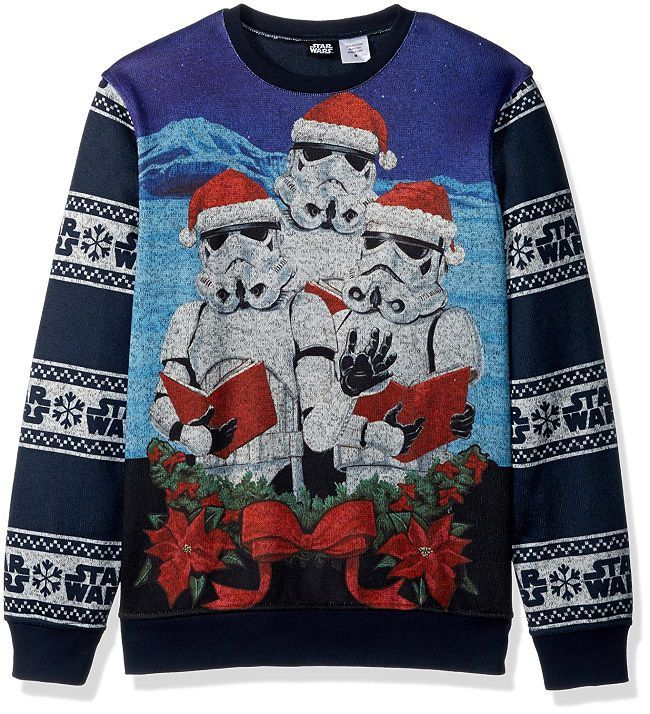 Pin on Star Wars Christmas Sweaters