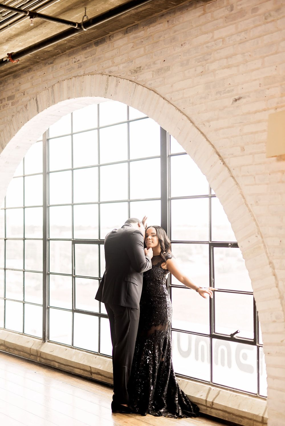 Ashley + David | Engagement Session at The Astorian in Houston, Texas -