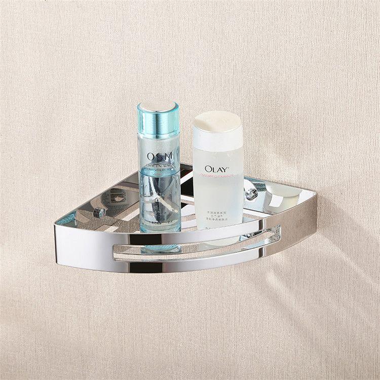 Contemporary Bathroom Wall Storage Rack Hardware Hanging Single Angle Bathroom  Accessories #Affiliate