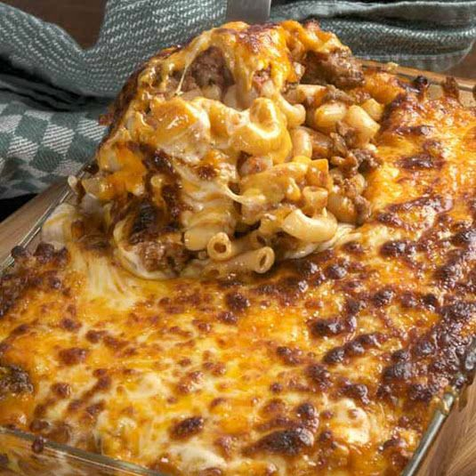 Beefy Macaroni And Cheese Recipe Recipe Recipes Cooking Ground Beef Recipes