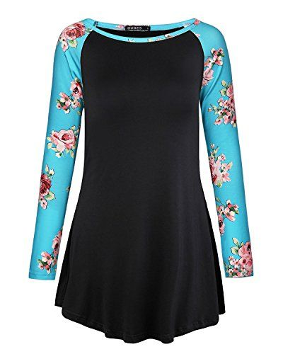 Women Sleeve Bohemia Tunic Buy Ouges Tops Casual Basic Patchwork bf7mIYyv6g