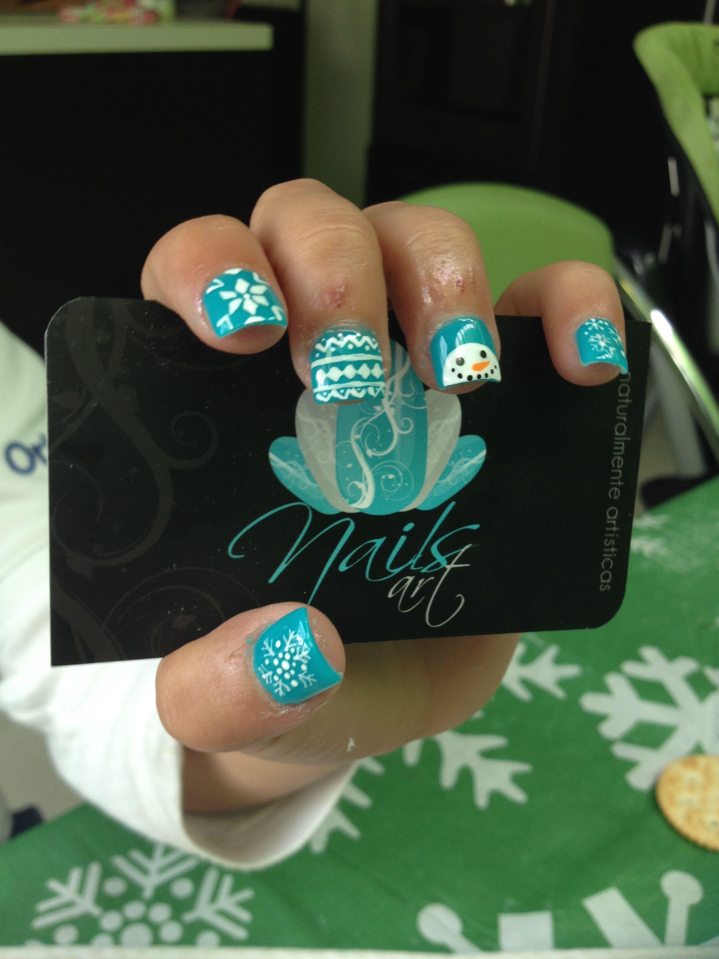 Nails art acrylic nails christmas nails NailArtDIY Nail Art DIY