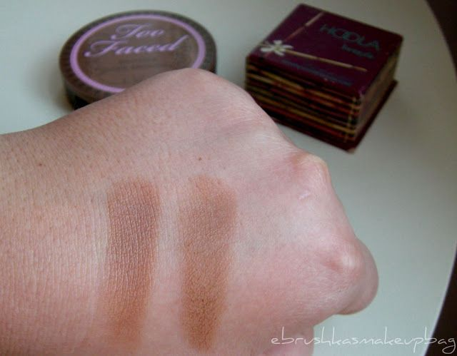 Too Faced Chocolate Soleil vs. Benefit Hoola | Beauty | Pinterest ...