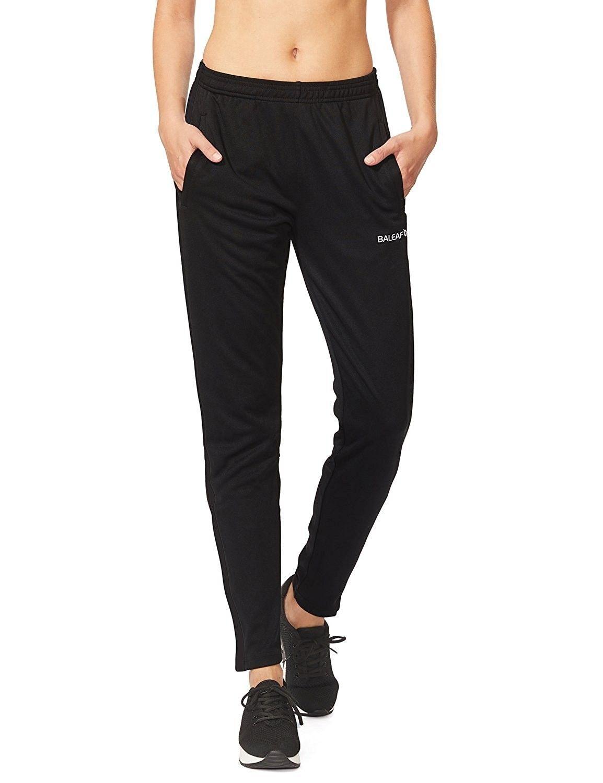 Women's Athletic Track Pants Running Sweatpants - Black/Black - CZ188984KT4    Pants for women, Sweatpants, Clothes for women