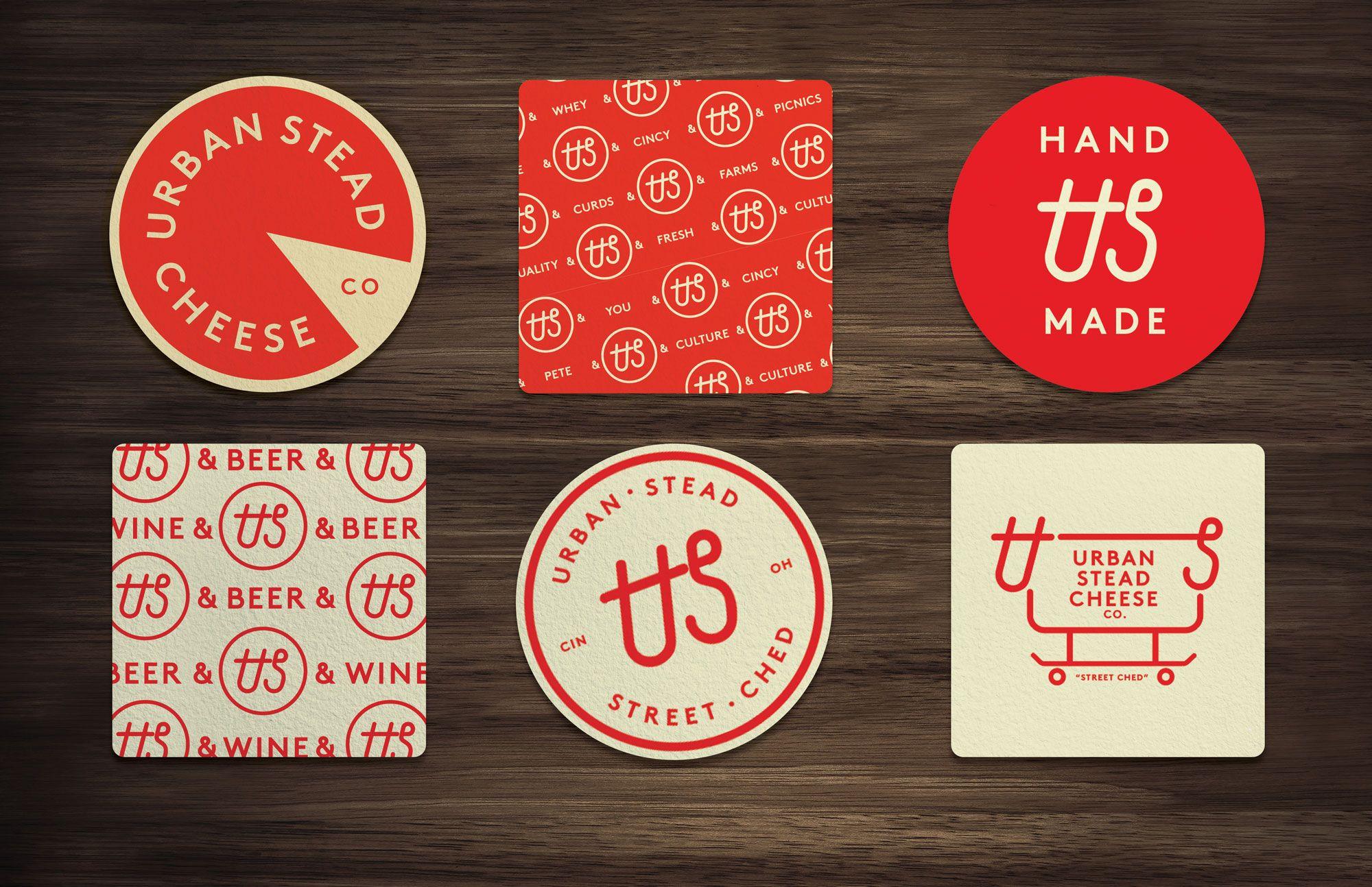 Urban Stead Cheese Co Design Project Bldg Refuge Branding Design Logo Branding Design Design Projects