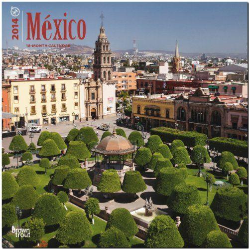 Mexico Calendar -  Más en http://viajerosdelmisterio.es/tienda/obras-ilustradas/mexico-calendar/