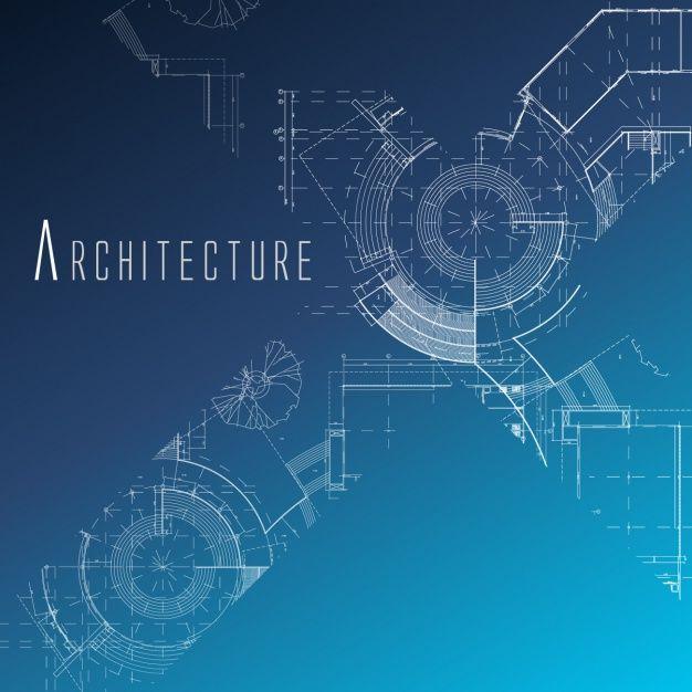 Architecture background design Free Vector Maker Fun Factory VBS - new robot blueprint vector art