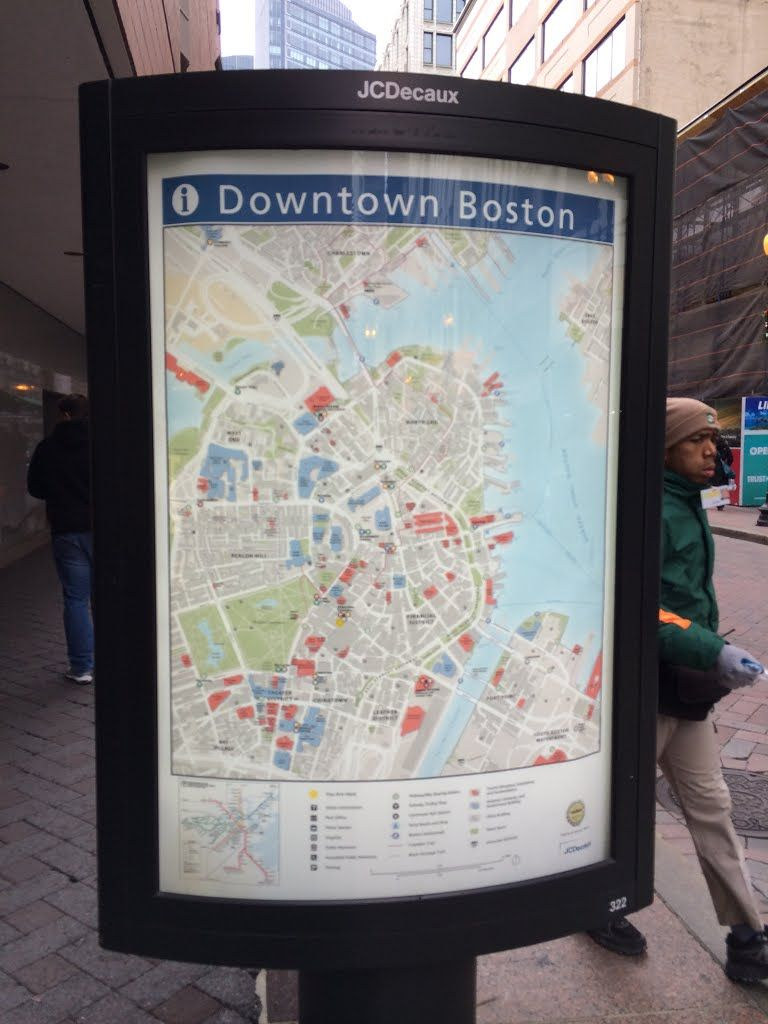 Downtown crossing boston ma usa downtown downtown