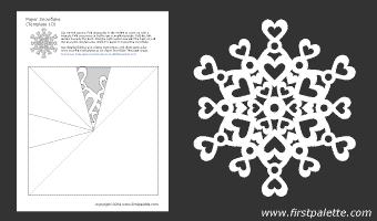 Paper Snowflake Patterns | Printable Templates & Coloring