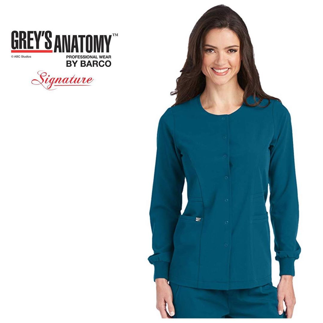27 Likes 4 Comments Medical Uniform Accessories Sal Scrubs On Instagram جاكيت قريز أناتومي الس Medical Outfit Professional Wear Long Sleeve Blouse