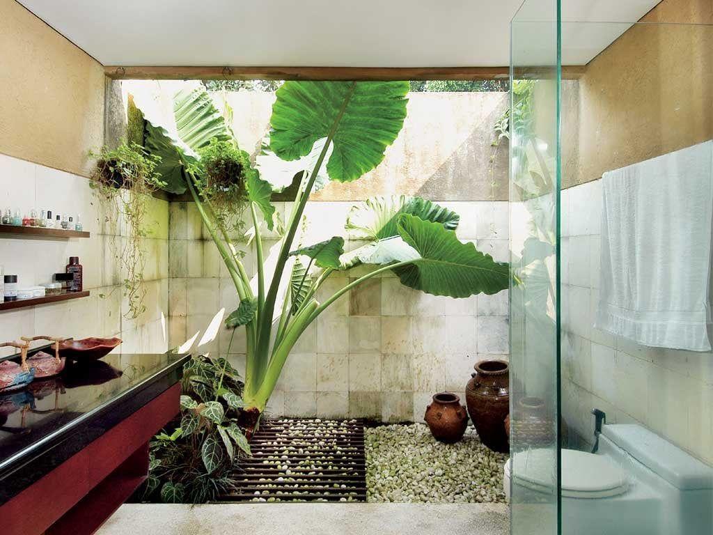 Desain Kamar Mandi Natural di 5  Kamar mandi pedesaan, Ruang