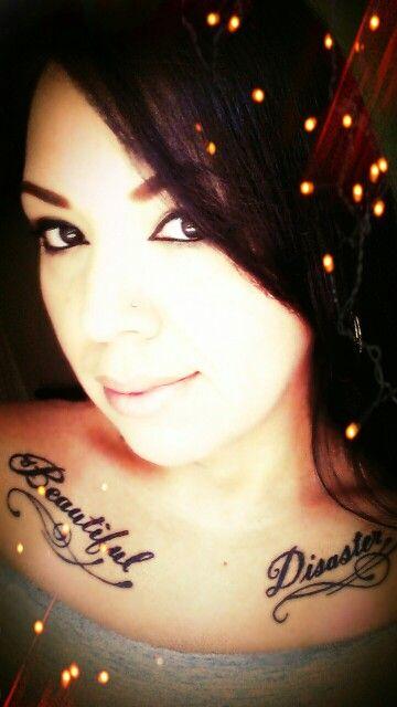 Beautiful Disaster Tattoo Ideas : beautiful, disaster, tattoo, ideas, Beautiful, Disaster