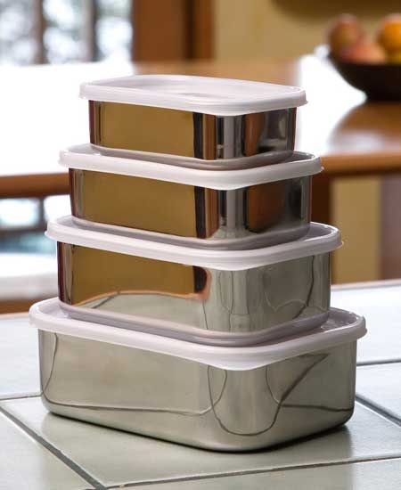 stainless steel food containers Stainless steel food