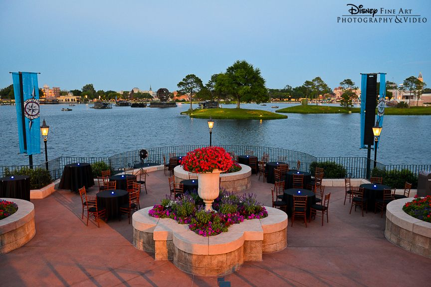 The terrace des fleurs at epcot is the perfect venue for for Terrace party