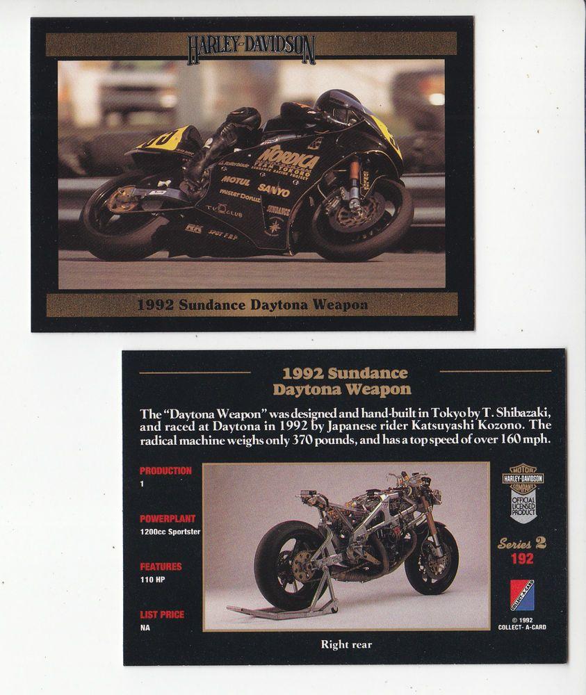 1992 Harley-Davidson Sundance Daytona Weapon Motorcycle Katsuyashi