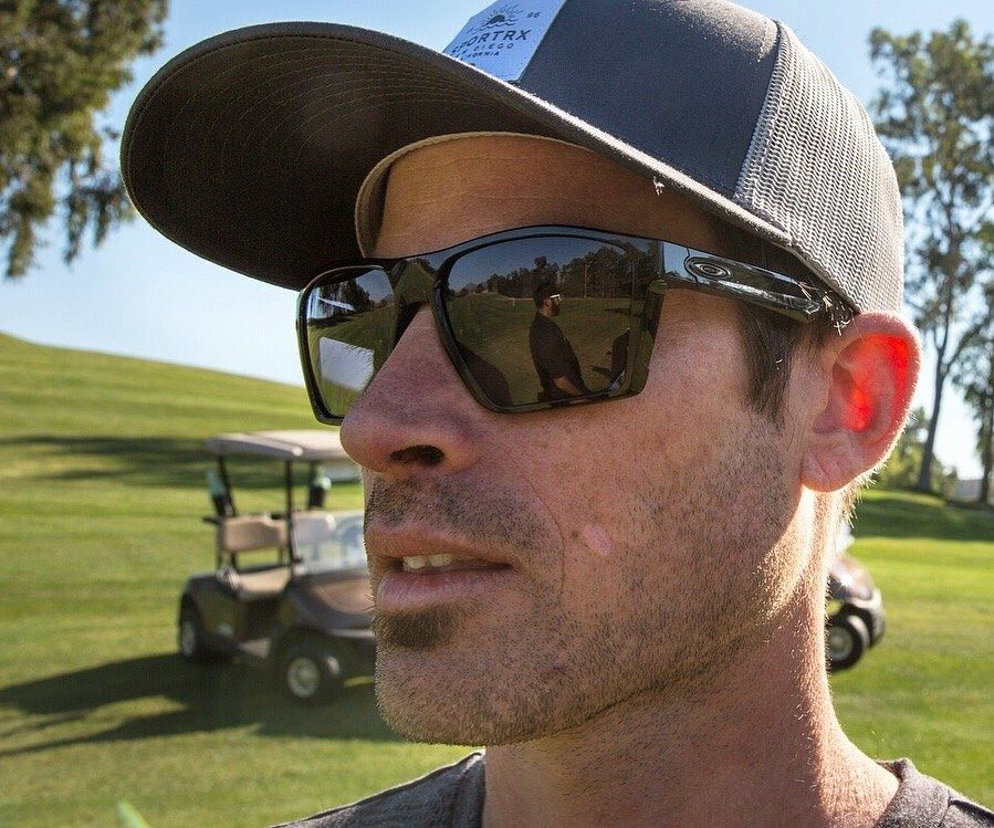 397ef6bfb16b Oakley Targetline in Matte Black with Prizm Dark Gold lenses. Lenses  designed specifically for golf!