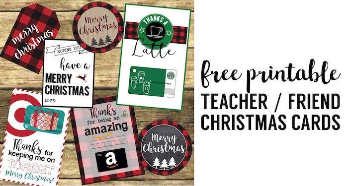 Best Teacher Christmas Gift Ideas - Paper Trail Design