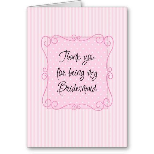 #thank_you #bridesmaid  #cards