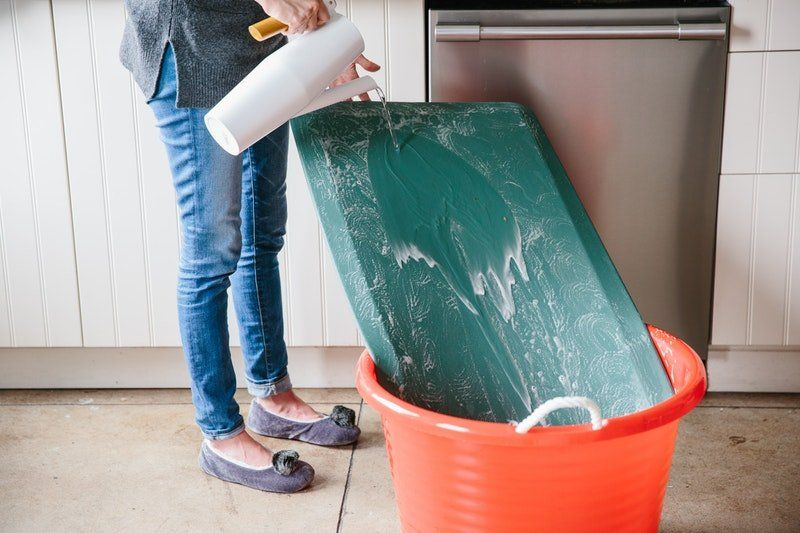 How To Clean One Of Those Anti Fatigue Kitchen Mats Anti Fatigue