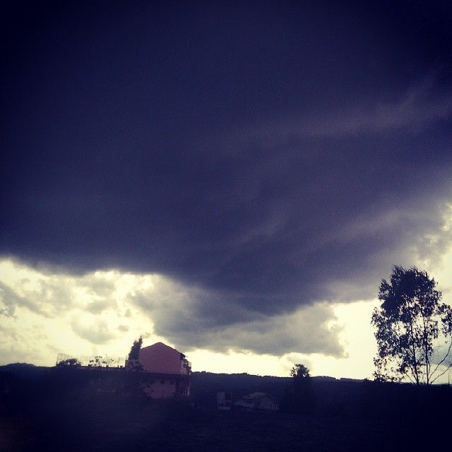 Tornado Cloud at MeghalayaIndia [OC] [640x640]