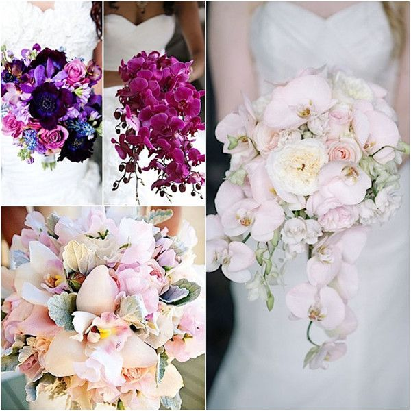 Most Sun Kissed Flowers In Season For July Wedding Orchid Bouquet Wedding Orchid Wedding Theme Orchid Wedding