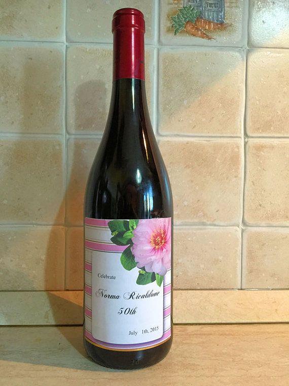 Etichetta vino digital download download di PrintableColors
