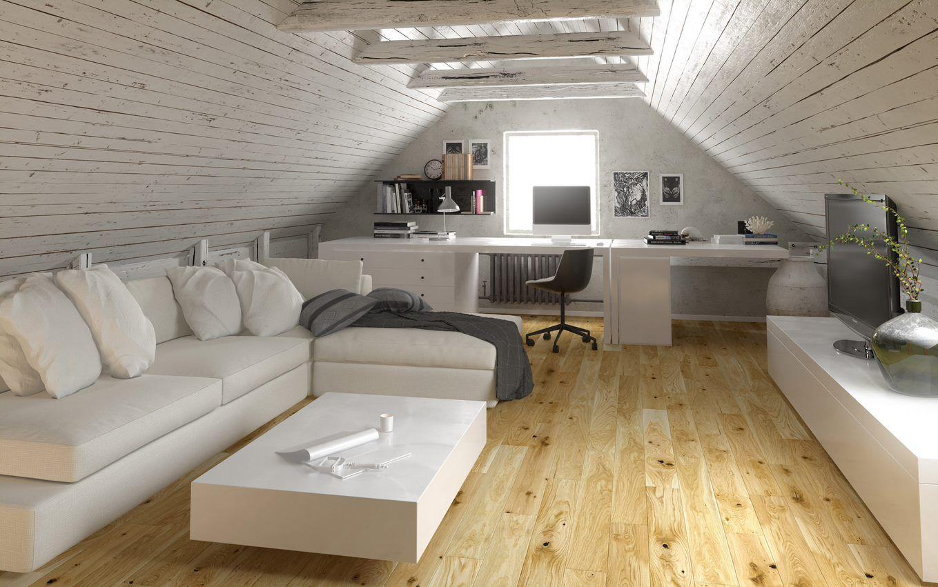Loft conversion natural oak floor in 2020 Natural oak