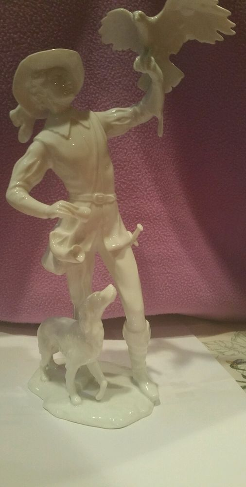 Kaiser Porcelain figurine, Falconeer
