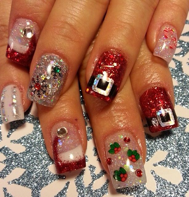 Christmas Nail Designs Video Christmas Nail Design Ideas Nail