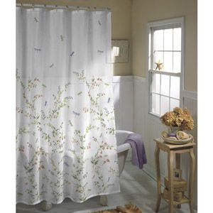 bathroom design images dragonfly garden fabric shower curtain dragonflies 10336
