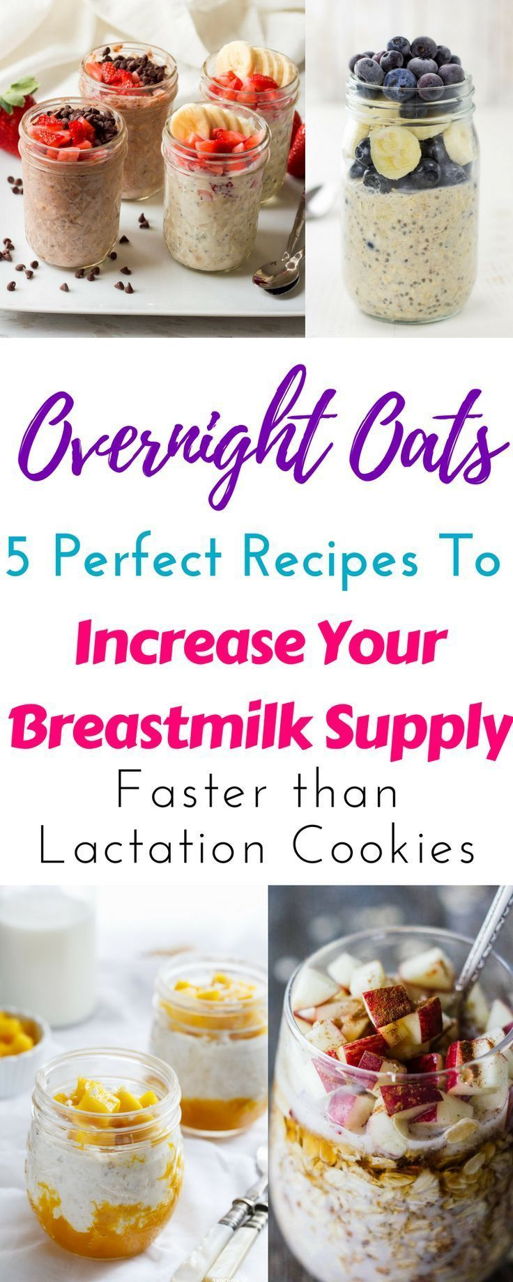 Overnight Oats For Lactation To Increase Milk Supply -3582