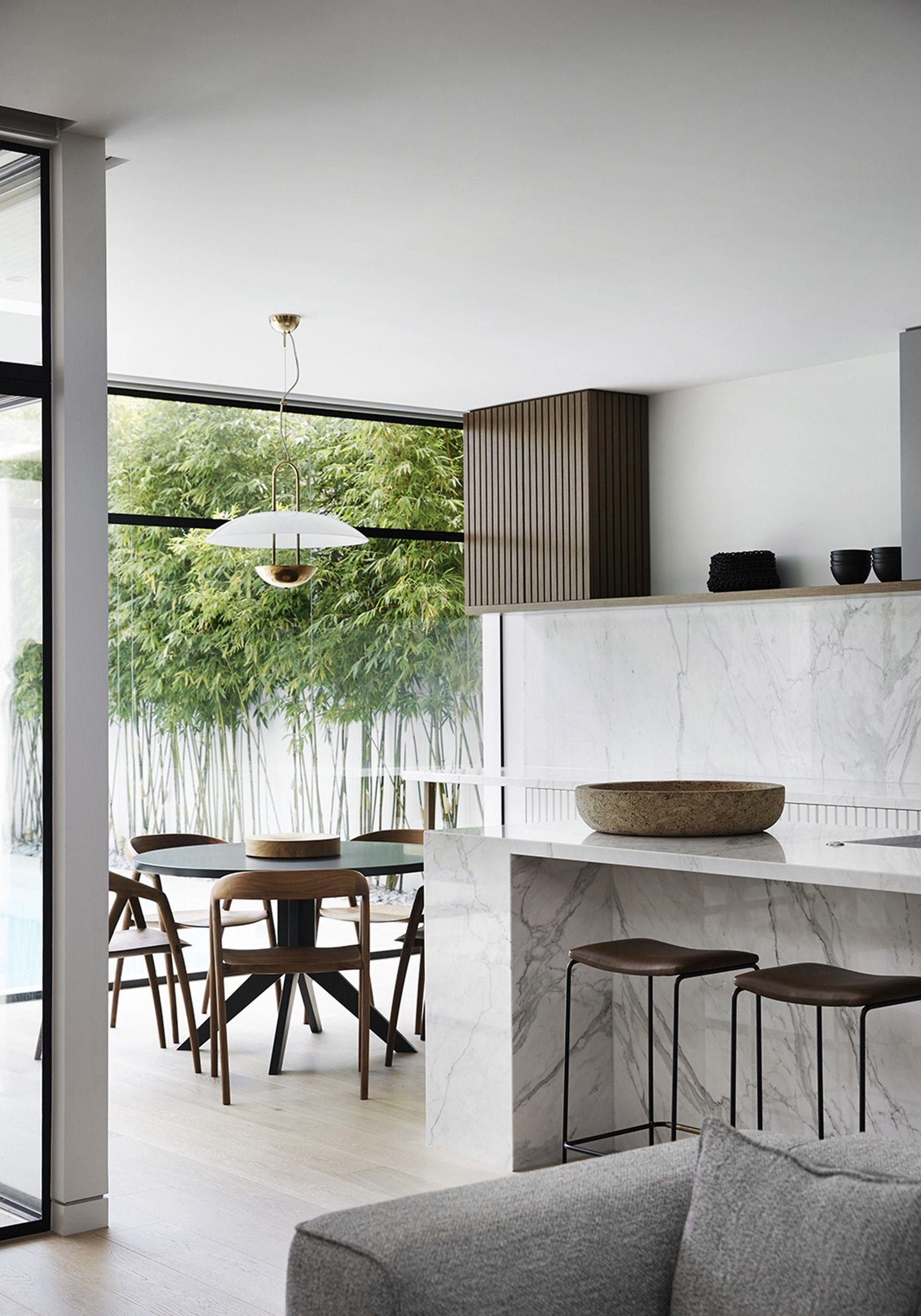 Interior inspiration | Kitchen | Dining room | Open-plan living ...