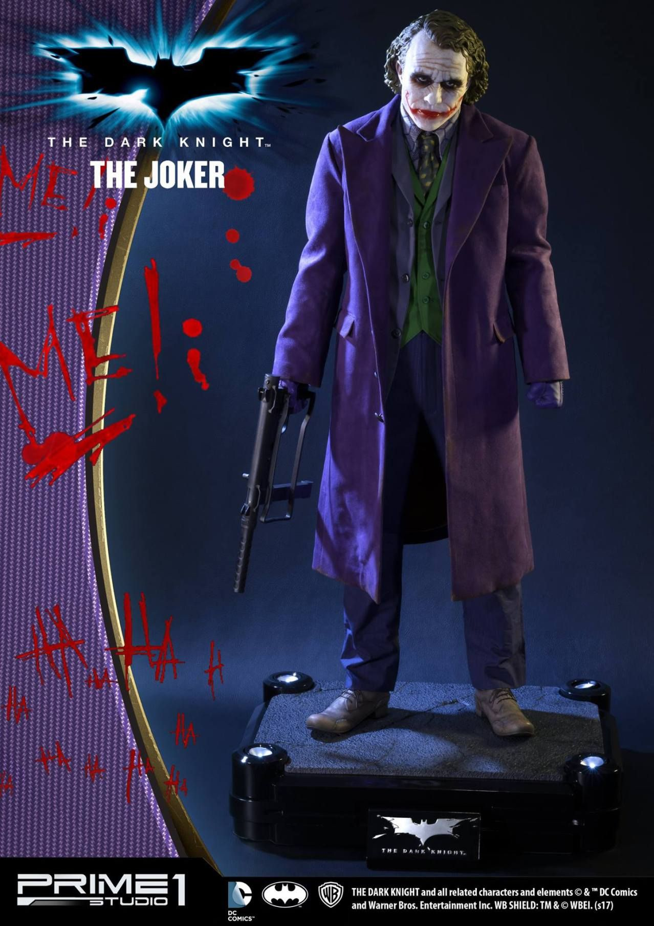 The Joker Statue by Prime 1 Studio Joker, Dark knight