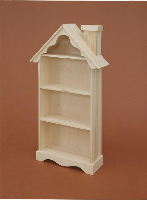 Lam Brother S Unfinished Furniture Bookcase That Looks Like A Doll House