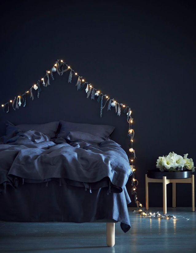 Guirlande Boule Lumineuse Lumiere Sur Nos 20 Idees Deco Elle