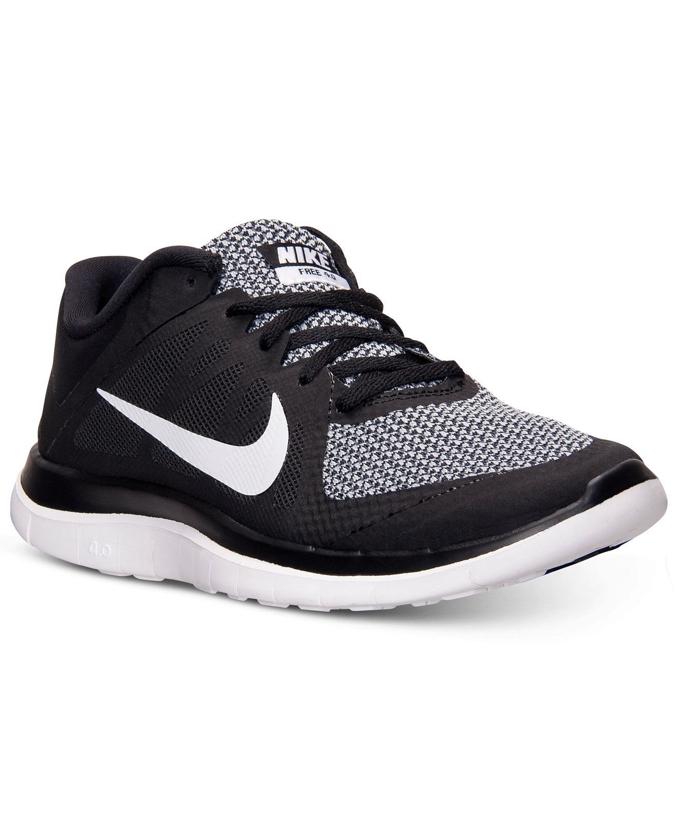 9d5c148b79c Nike Women s Free 4.0 V4 Running Sneakers from Finish Line - Kids Finish  Line Athletic Shoes - Macy s