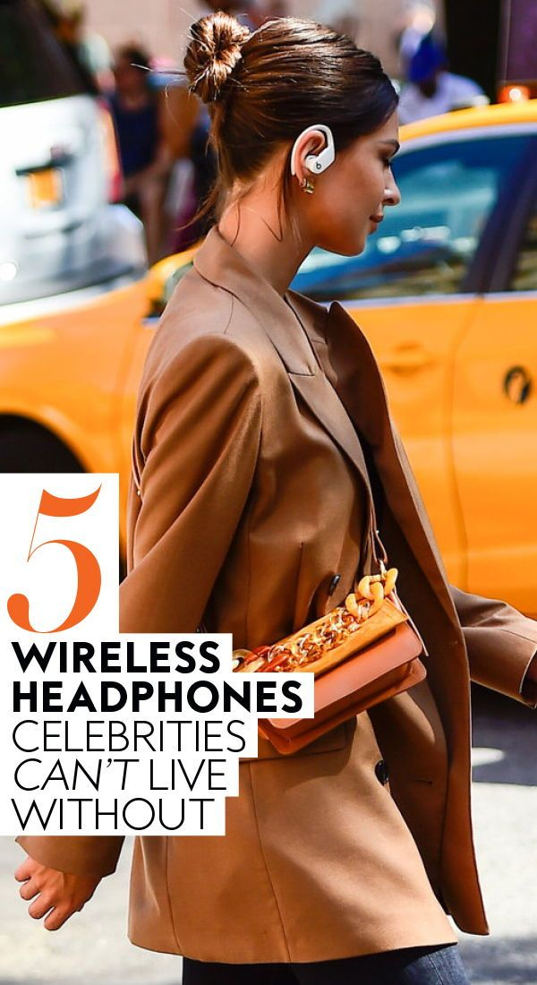 These are the 5 #wirelessheadphones celebrities can't live without. Some will be on sale this #BlackFriday. #Headphones #BestWirelessHeadphones #Technology #BlackFridaySales #CyberMonday   InStyle